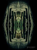 """Subhash: """"Tor"""" – """"Spiegelungen"""" mit """"Zentralperspektive"""" (A16/W06) – """"Mirroring"""" with """"Central perspective"""""""