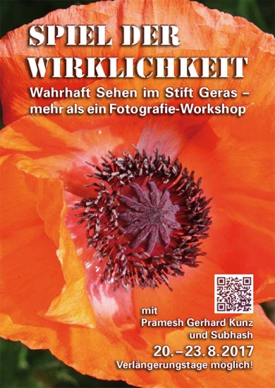 Flyer zum Sommer-Workshop in Geras 2017