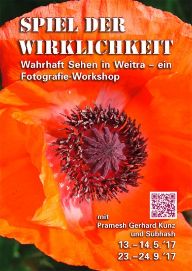 Flyer zu den Workshops in Weitra 2017