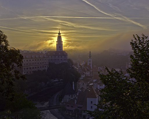 "Subhash: ""Český Krumlov in the morning light"""