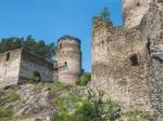 """Subhash: """"Ruine Kollmitz – Hungerturm #4468-502"""""""