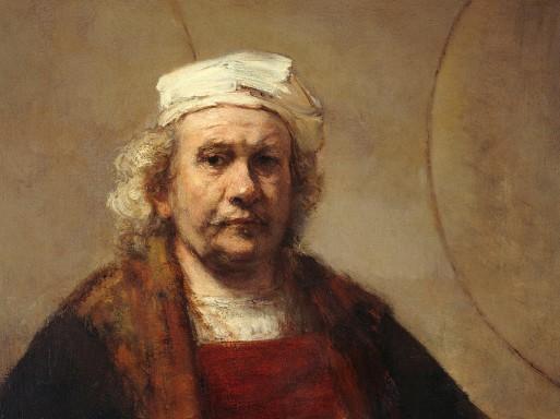 Rembrandt – Selbstportrait