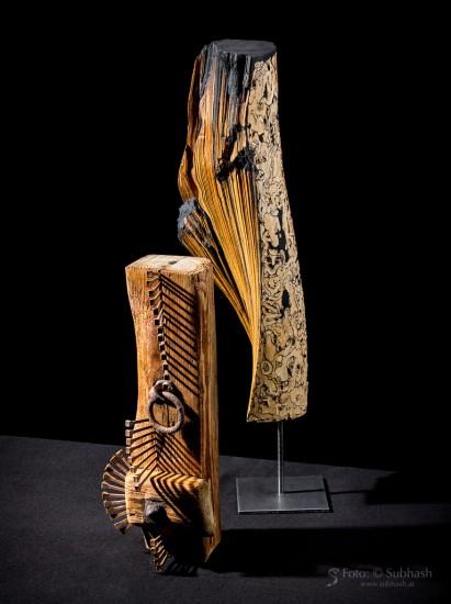 © Skulpturen: Iris Lindner 2019, Foto: Subhash 2019