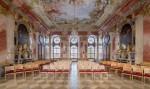 Marmorsaal (ehemaliges Sommerrefektorium) des Stiftes Geras