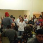 11 - Besuch bei einer Klasse der Mision Robinson