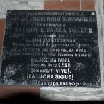 10 - Tafel für Freddy Parra