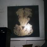 2101 - Overheadprojektion: Goldschmuck der Muiscas