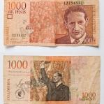 Gaitán auf dem 1000-Pesos-Schein